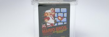 Sticker Sealed Super Mario Bros. sells for record $100,000